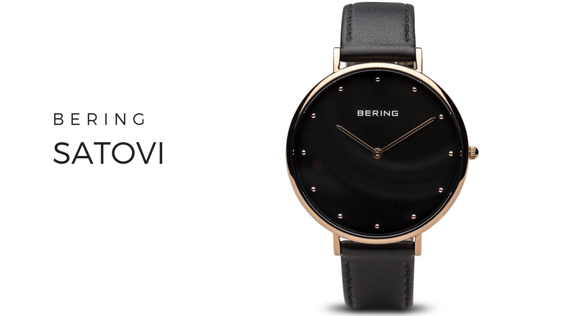 Bering muški i ženski satovi